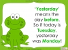 Days of the Week - Year 1 Teaching Resources (slide 31/60)