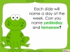 Days of the Week - Year 1 Teaching Resources (slide 34/60)