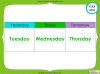 Days of the Week - Year 1 Teaching Resources (slide 40/60)