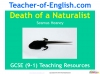 Death of a Naturalist - GCSE (9-1) Teaching Resources (slide 1/20)