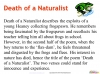 Death of a Naturalist - GCSE (9-1) Teaching Resources (slide 6/20)