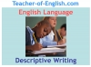 Descriptive Writing Teaching Resources (slide 1/91)