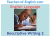 Descriptive Writing Teaching Resources (slide 14/91)