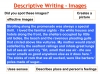 Descriptive Writing Teaching Resources (slide 49/91)