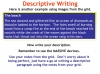 Descriptive Writing Teaching Resources (slide 81/91)