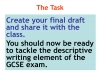 Descriptive Writing Teaching Resources (slide 90/91)