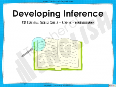 Developing Inference - KS3