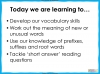 Developing Vocabulary Skills Teaching Resources (slide 3/29)