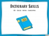 Dictionary Skills - KS3 Teaching Resources (slide 1/44)