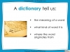 Dictionary Skills - KS3 Teaching Resources (slide 25/44)