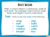 Dictionary Skills - KS3 Teaching Resources (slide 26/44)