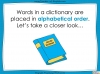 Dictionary Skills - KS3 Teaching Resources (slide 4/44)