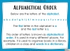 Dictionary Skills - KS3 Teaching Resources (slide 5/44)