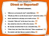 Direct and Reported Speech Teaching Resources (slide 9/13)