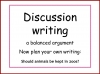 Discussion Writing (slide 9/59)