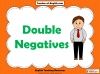 Double Negatives Teaching Resources (slide 1/13)