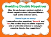 Double Negatives Teaching Resources (slide 6/13)