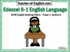 Edexcel 9-1 GCSE English Exam - Paper 1 and Paper 2 Teaching Resources (slide 2/449)