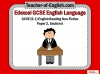Edexcel 9-1 GCSE English Exam - Paper 1 and Paper 2 Teaching Resources (slide 252/449)