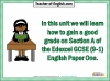 Edexcel 9-1 GCSE English Exam - Paper 1 and Paper 2 Teaching Resources (slide 3/449)