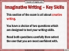 Edexcel 9-1 GCSE English Paper 1 Section B Writing Fiction (slide 25/202)