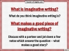Edexcel 9-1 GCSE English Paper 1 Section B Writing Fiction (slide 26/202)