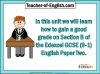 Edexcel 9-1 GCSE English Paper 2 Section B (slide 2/93)
