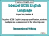 Edexcel 9-1 GCSE English Paper 2 Section B (slide 3/93)