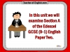 Edexcel GCSE (9-1) English Language Paper 2 Section A - Reading Non-fiction (slide 2/119)