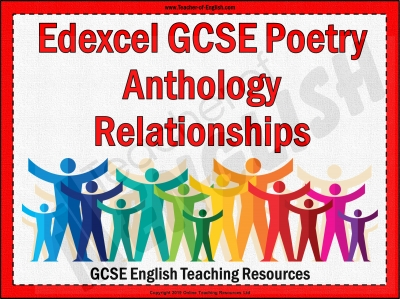 Edexcel GCSE Poetry Anthology Relationships