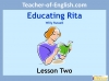 Educating Rita by Willy Russell KS3 (slide 20/111)