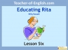 Educating Rita by Willy Russell KS3 (slide 63/111)