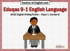 Eduqas 9-1 GCSE English Paper 1 Section B (slide 1/196)