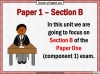 Eduqas 9-1 GCSE English Paper 1 Section B (slide 2/196)