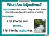 Effective Adjectives (slide 3/11)