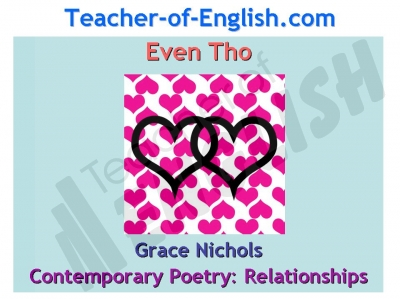 Even Tho (Grace Nichols) Teaching Resources