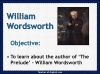 Excerpt from The Prelude - Wordsworth Teaching Resources (slide 3/44)