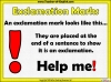 Exclamation Marks Teaching Resources (slide 3/10)