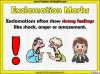 Exclamation Marks Teaching Resources (slide 4/10)