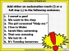 Exclamation Marks Teaching Resources (slide 5/10)