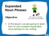 Expanded Noun Phrases - KS3 Teaching Resources (slide 2/48)
