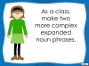 Expanded Noun Phrases - KS3 Teaching Resources (slide 32/48)