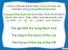 Expanded Noun Phrases - KS3 Teaching Resources (slide 8/48)