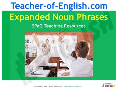 Expanded Noun Phrases Teaching Resources
