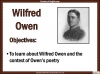 Exposure (Wilfred Owen) (slide 5/44)
