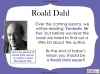 Fantastic Mr Fox by Roald Dahl (slide 10/85)