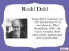 Fantastic Mr Fox by Roald Dahl (slide 11/85)