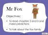 Fantastic Mr Fox by Roald Dahl (slide 26/85)