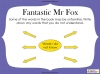 Fantastic Mr Fox by Roald Dahl (slide 37/85)