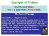 Fiction and Non-fiction (slide 8/12)